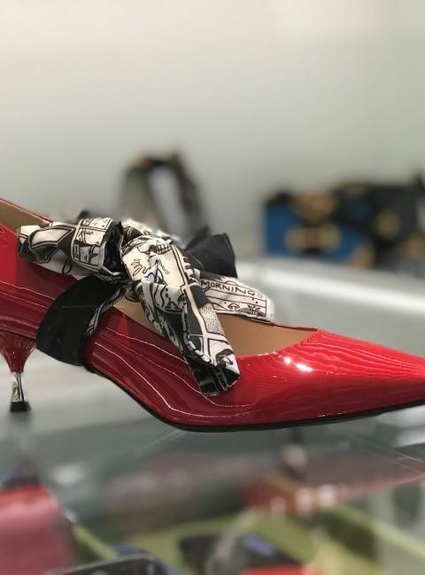 Prada boetiek resultaat gepersonaliseerde schoen